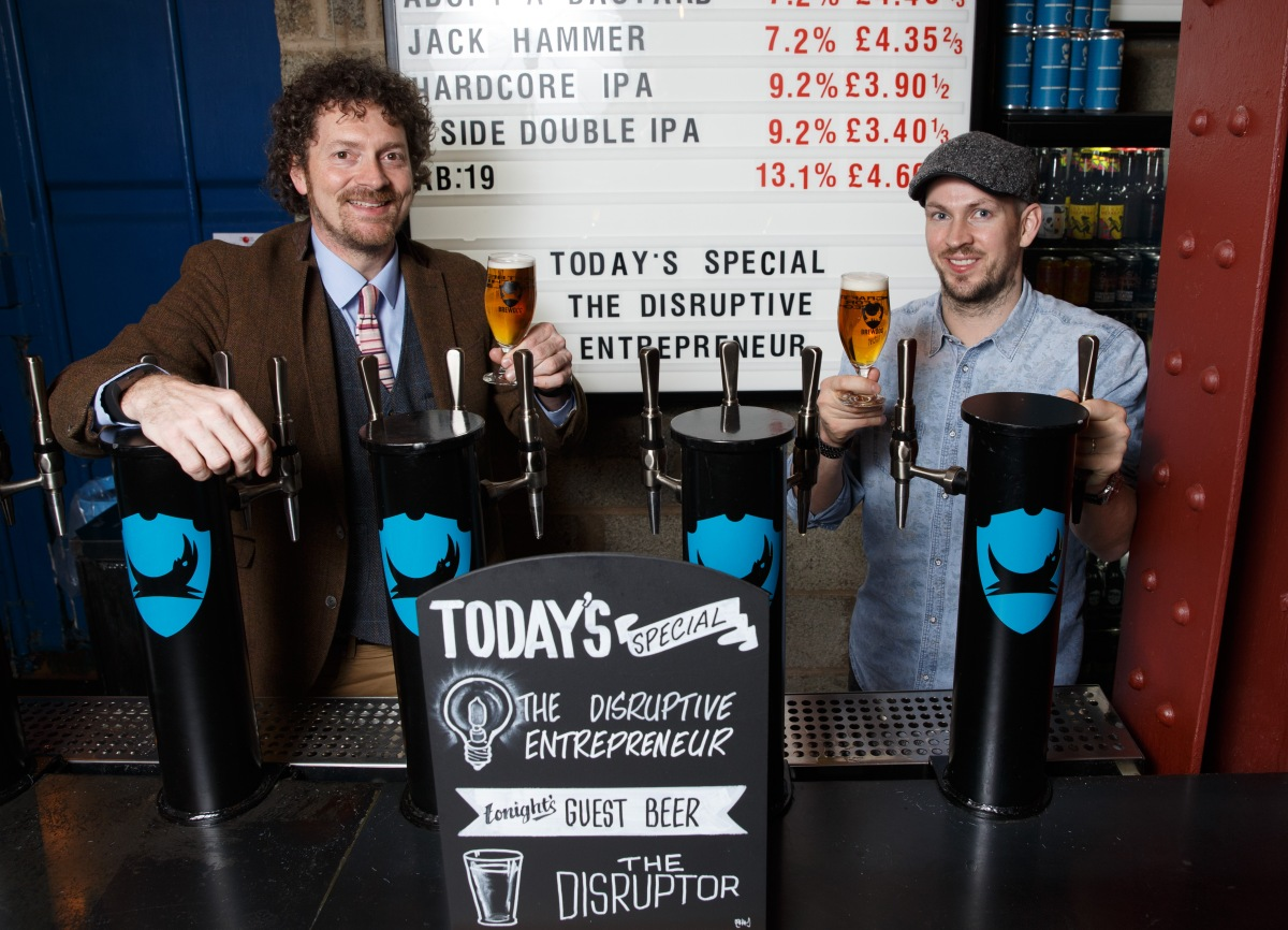 Entrepreneurialism is brewing in Scotland Entrepreneurial Scotland drafts in brewer
